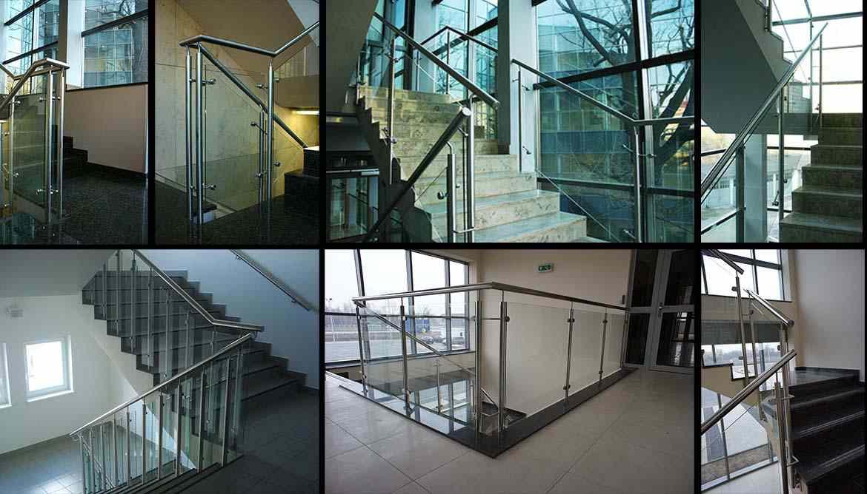 Picture of: Oversigt Over Glasgelaender Med Rustfrie Stolper Stolpefrit Glasgelaender Rustfrit Raekvaerk Gml System